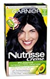 Garnier Nutrisse Cream hair color 21 blue/black, for bright, shiny hair