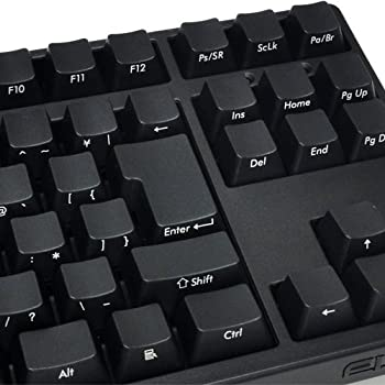 FILCO MajestouchBLACK USB&PS2両対応 日本語91キー・前面印刷・かな印字なし Nキーロールオーバー対応 独CherryMX茶軸スイッチメカニカルキーボード ブラック FKBN91M/NFB2