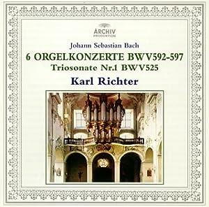 J.S.Bach:6 Organ Concergros/Tr