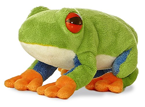 "Red Eyed Tree Frog Mini Flopsie 6"" by Aurora - 1"