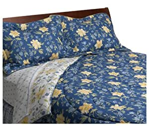 Laura Ashley Emilie Collection King Comforter Set by Laura Ashley