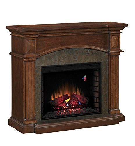 Classic flame 28wm4311 c259r toledo wall mantel premium cocoa mantel only cheap online - Lowes in toledo ...