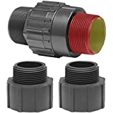 Superior Pump 99555 Universal Check Valve, Plastic, Fits all 1-1/4 or 1-1/2 MIP or FIP x 1-1/4 or 1-1/2 MIP or FIP