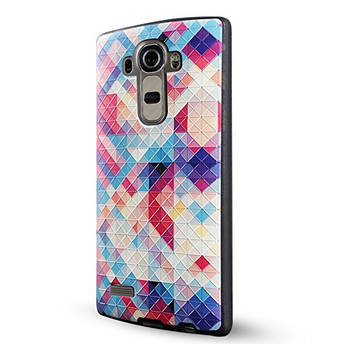 LG G4 Cover,Lizimandu Creative 3D Schema UltraSlim TPU Copertura Della Cassa Del Custodia Case Tacsa Protettiva Shell per lg g4(Un Pene/Colorful Pizzle)