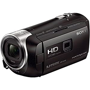 Sony Handycam HDR-PJ440 8GB Wi-Fi 1080p HD Video Camera Camcorder with Projector + 32GB Card + Case + Battery & Charger + Flex Tripod + Kit