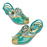 Disney Arabian Princess Jasmine Aladdin Shoes - Size 2 / 3 Youth