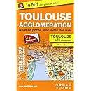 Toulouse agglomération (31) - Atlas de poche