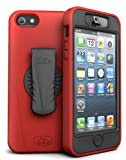 ISkin Revo 360 Case for Apple iPhone 5 - Red