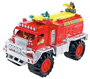 Matchbox Big Boots Blaze Brigade Fire Truck Vehicle