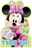 Disney Minnie Mouse Bows Thank You Postcards 8 Pack
