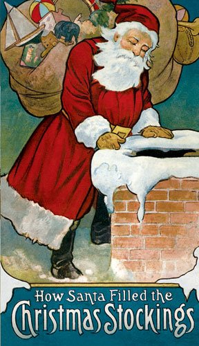 How Santa Filled the Christmas Stockings, CAROLYN S. HODGMAN