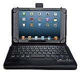 VSTN ® Asus Memo Pad 7 ME572C / ME572CL ultra-thin Bluetooth Keyboard Portfolio Case - DETACHABLE Bluetooth Keyboard Stand Case / Cover (Bluetooth Keyboard)