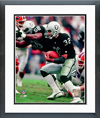 Marcus Allen Oakland Raiders NFL Action Photo (Size: 12.5 x 15.5) Framed