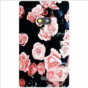 Nokia Lumia 625 Back Cover - Bubbled Designer Cases