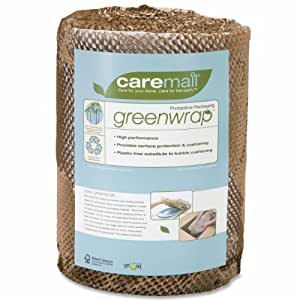 CareMail Greenwrap Protective Cushioning Packaging Roll, 13 Inches Wide x 75 Feet Long (1119512)