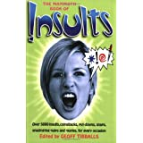 The Mammoth Book of Insults (Mammoth Books)by Geoff Tibballs