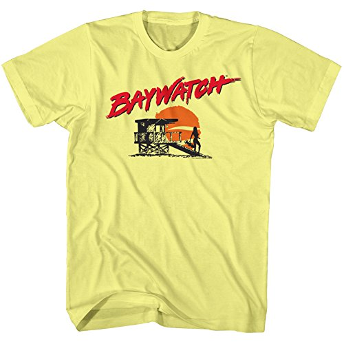 Licensed Baywatch-Silhouette T-shirt - S to XXL
