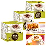Nescafé Dolce Gusto Christmas gift set: 3 x 16 Cappuccino capsules + free Kitchen Guidebook