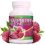 Raspberry Ketone Plus Flacon de capsules de cétone de framboise à base de baie d'açai, de mangue africaine et de varech 600 mg (pour cure d'un mois)