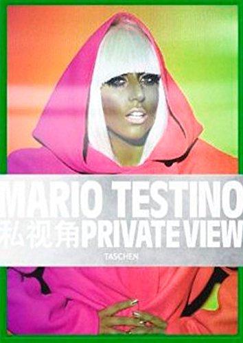 Mario Testino, Private View by Mario Testino (10-Aug-2012) Hardcover