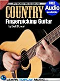 img - for Country Fingerstyle Guitar Lessons: Teach Yourself How to Play Guitar (Free Audio Available) (Progressive) book / textbook / text book