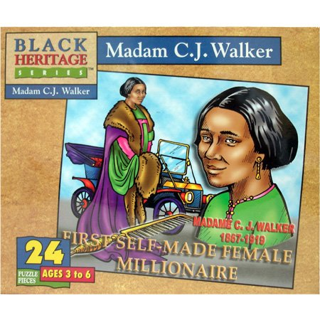 Black Heritage Series - Madam C.J. Walker - Jigsaw Puzzle - 24 Pc - 1