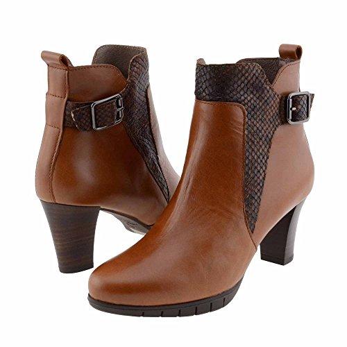 I-6018 Meraviglie stivali di pelle Misure: 38 Colore: CASTAGNA
