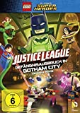 DVD Cover 'LEGO DC Super Heroes Justice League: Gefängnisausbruch in Gotham City