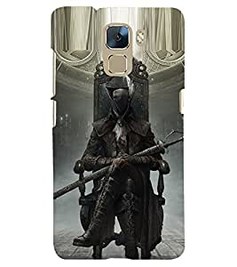 PRINTSHOPPII DEATH GAME Back Case Cover for Huawei Honor 7