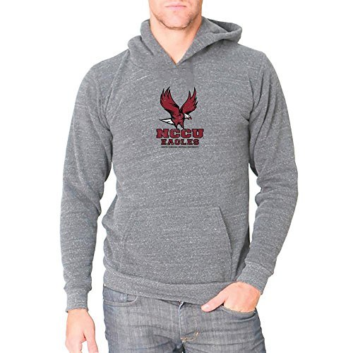 NCAA North Carolina Central University Eagles Men's Distressed Logo Design Triblend Fleece Hoodie, XX-Large (North Carolina Central University compare prices)