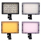 160 LED CN-160 Dimmable Ultra High Power Panel Digital Camera / Camcorder Video Light, LED Light for Canon, Nikon, Pentax, Panasonic,SONY, Samsung and Olympus Digital SLR Cameras
