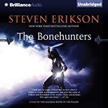 The Bonehunters: Malazan Book of the Fallen, Book 6 Audiobook by Steven Erikson Narrated by Michael Page