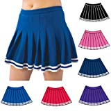 Pizzazz Purple Pleated Cheer Uniform Skirt Girls 2-4