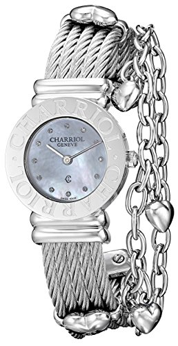 Charriol-Womens-St-Tropez-Mother-of-Pearl-Dial-Heart-Bracelet-Watch-028CC550326