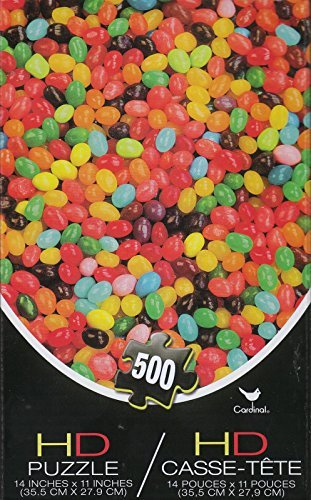 Jelly Beans 500 Piece HD Puzzle
