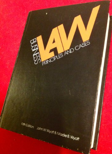 Business law: principles and cases PDF