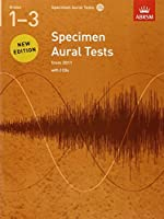 Specimen Aural Tests, Grades 1-3, with 2 CDs: from 2011
