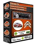 Citroen C3 CD player car stereo Kenwood KDC 3057ur AUX USB Android radio kit