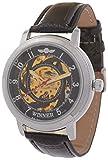 Handcuffs Analogue Silver Men's Watch - (Winner ML)
