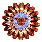Iron Stop Butterfly Animated Wind Spinner  DA12010