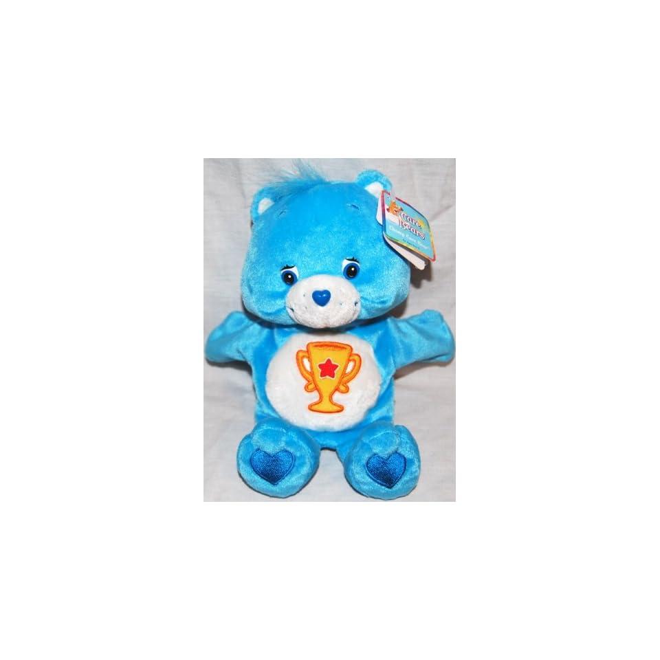 Champ Bear Care Bear Hand Puppet Plush