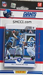 2012 Score New York Giants Factory Sealed 12 Card Team Set