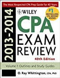 Wiley CPA Examination Review 2013-2014, Outlines and Study Guides (Wiley CPA Examination Review Vol. 1: Outlines & Study Guides) (Volume 1)