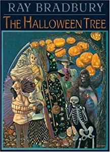 """Cover of """"The Halloween Tree"""""""