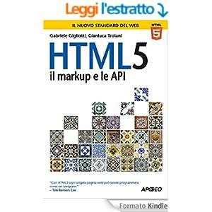 HTML5: il markup e le API