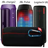 Voyage Portable Slim Box Zipper pochette de protection couvrir les cas sac pour JBL Pulse Flip 1 Charge 2 Ultimate Ears BOOM Bluetooth Speaker