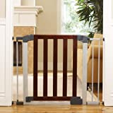 Munchkin-Auto-Close-Designer-Safety-Gate-Dark-Wood