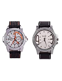 Veens Multicolor Dial Combo Pack Of 2 Boys/Gents/Mens Wrist Watch DW1090 Zi