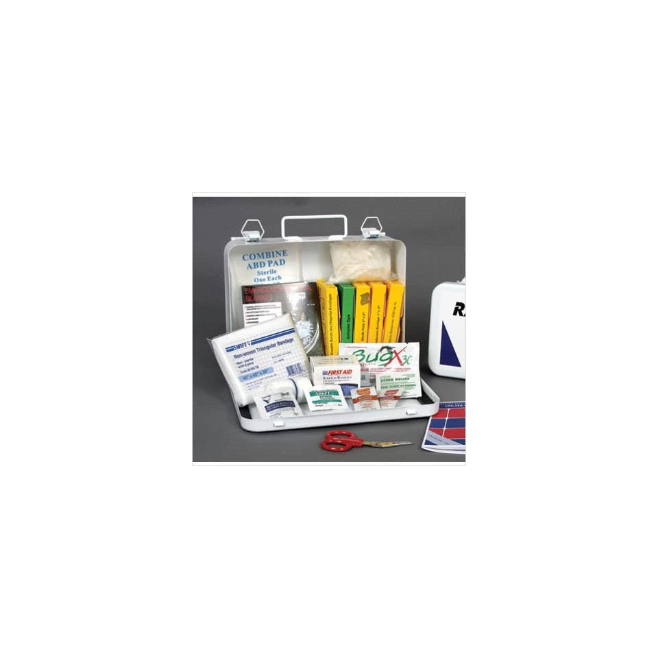 Radnor 64058000 Person Vehicle First Aid Kit In Metal Case