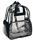 Clear Backpacks (Wholesale Lot of 24 PCS)